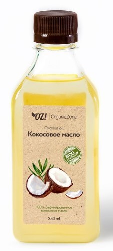 Купить Масло натуральное косметическое кокосовое 250мл цена