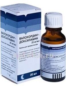 Купить Валокордин-доксиламин цена