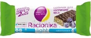 Купить Light батончик для коррекции веса черника 45,0 цена