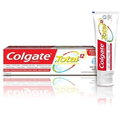 Купить Total 12 чистая мята зубная паста 75мл цена