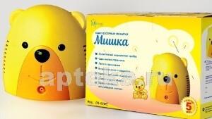 Купить Ингалятор /небулайзер/ мишка  компрессорный детский без сумки цена