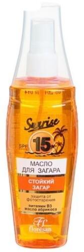 Масло для быстрого загара абрикосовый нектар 135мл