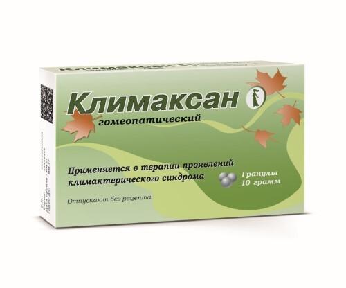 Купить КЛИМАКСАН ГОМЕОПАТИЧЕСКИЙ 10,0 ГРАНУЛЫ цена