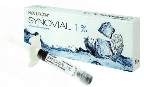 Купить Гиалуформ 1-01 синовиаль 1% материал-гель на основе гиалуроновой кислоты водосодержащий 2мл n1 шприц цена