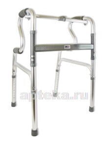Купить Опоры-ходунки двухуровневые с режимом шагающие/жесткие с 1 замком на 4х опорах amw1b77 (amrus) цена