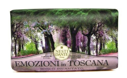 Купить Emozioni in toscana мыло очарованный лес 250,0 цена