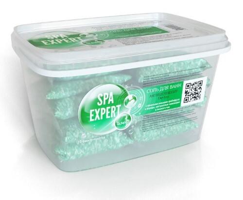 Купить Соль морская природная антицеллюлит de-tox spa expert 1,8кг цена