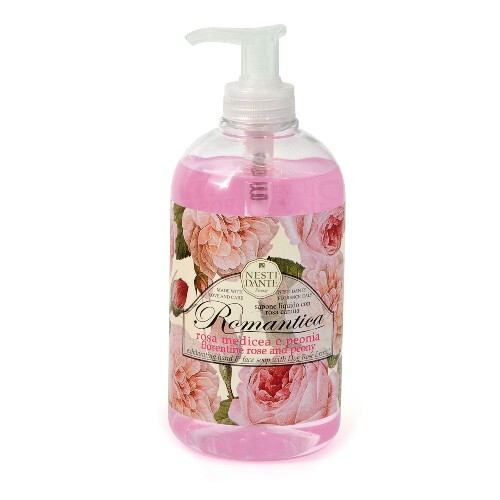 Купить Romantica жидкое мыло флорентийская роза и пион 500мл цена
