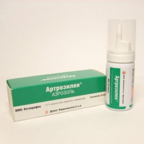 Купить Артрозилен 15% 25мл аэрозоль д/наруж цена