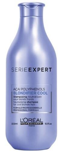 Купить Loreal professionnel serie expert blondifier cool шампунь для поддержания холодных оттенков блонд 300мл цена