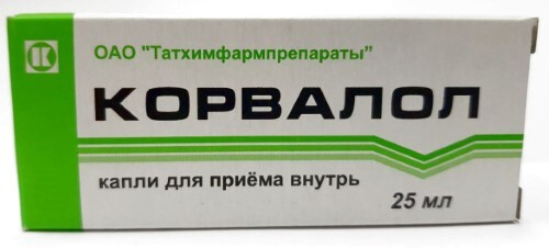Купить Корвалол 25мл капли д/приема внутрь /татхимфарм/ цена