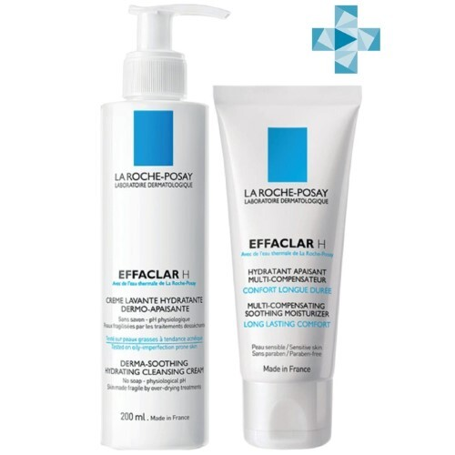 Купить Effaclar набор для пересушенной проблемной кожи со скидкой 15% цена