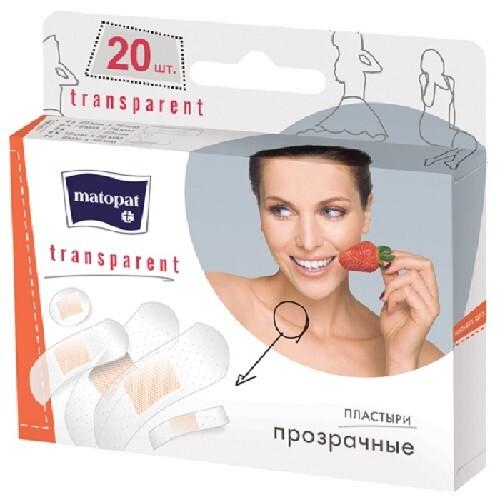 Купить Пластырь матопат transparent n20 /набор/ цена