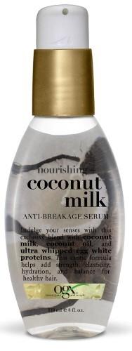 Купить Питательная сыворотка против ломкости волос с кокосовым молоком 118мл цена
