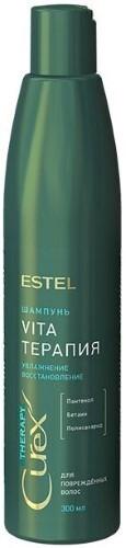 Купить Curex therapy шампунь для поврежденных волос vita-терапия 300мл цена