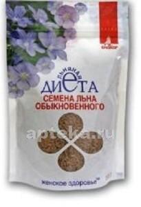Купить Женское здоровье семена льна обыкнов цена