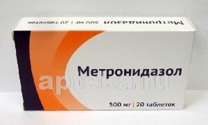 Купить Метронидазол 0,5 n20 табл/озон/ цена