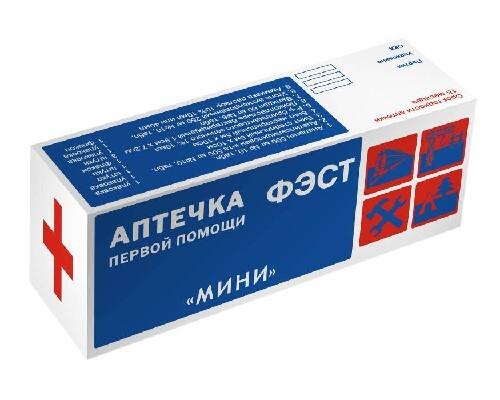 Купить Аптечка первой помощи фэст /мини/ цена