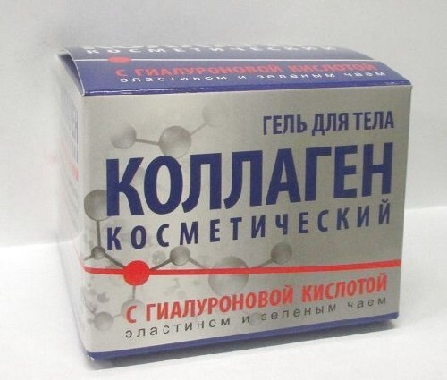 Купить Коллаген косметический с гиалуроновой кислотой гель для тела 75мл цена