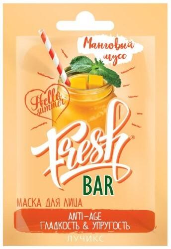 Купить Freshbar/фрешбар маска для лица манговый мусс 12мл цена