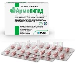 Купить АРМОЛИПИД N30 ТАБЛ МАССОЙ 0,8Г цена