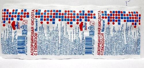Купить Аскорбиновая кислота с глюкозой мелиген цена