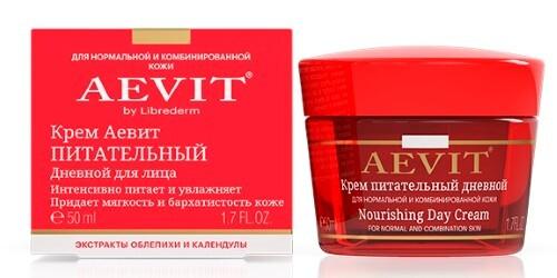 Купить Vitamins aevit аевит крем питательный дневной 50мл цена
