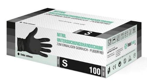 Купить Перчатки диагностические sf gloves нитриловые нестерильные неопудренные n50 пар s/черный цена
