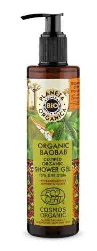 Купить Organic baobab гель для душа 280мл цена