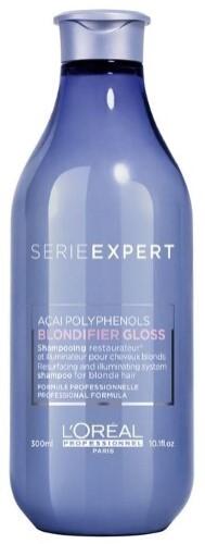 Купить Loreal professionnel serie expert blondifier gloss шампунь-сияние для осветленных и мелированных волос 300мл цена