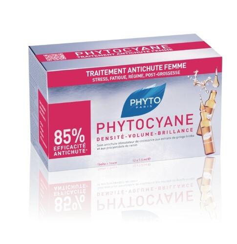 Купить Phytocyane сыворотка против выпадения волос 12х7,5мл цена