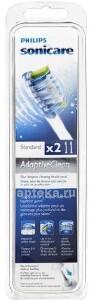 Купить Adaptiveclean hx9042 насадки для электрической зубной щетки n2 цена
