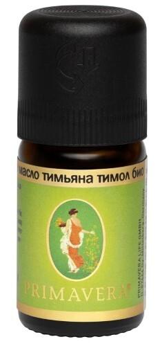 Купить Масло эфирное тимьяна тимол био 5мл/примавера лайф цена