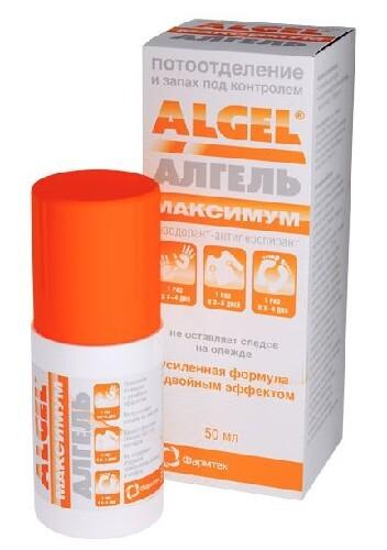 Купить Алгель максимум антиперспирант-дезодорант 50мл цена