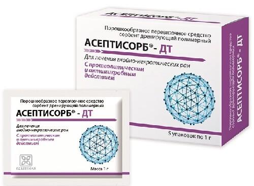 Купить Сорбент асептисорб-дт 1,0 n5 цена