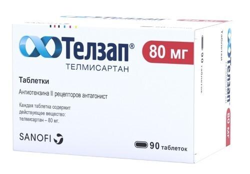 Купить Телзап 0,08 n90 табл цена