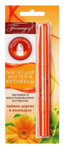 Купить Formagrif масло для ногтей и кутикулы чайное дерево/календула 1,8мл цена
