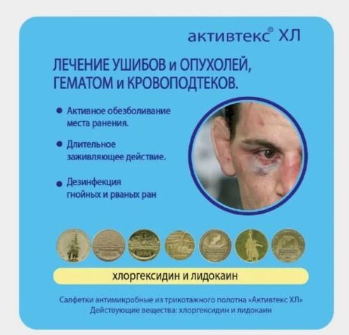 Купить АКТИВТЕКС ХЛ САЛФЕТКИ АНТИМИКРОБНЫЕ С ХЛОРГЕКСИДИНОМ И ЛИДОКАИНОМ 10Х10СМ N10 цена