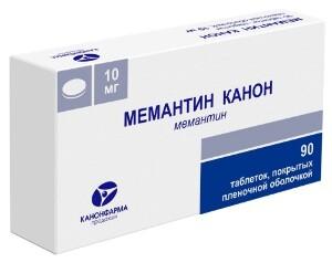 Купить МЕМАНТИН КАНОН 0,01 N90 ТАБЛ П/ПЛЕН/ОБОЛОЧ цена