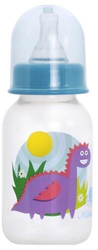Бутылочка полипропиленовая силиконовая соска 0+ 125мл/4010