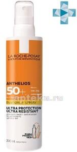 Купить Anthelios спрей солнцезащитный невидимый для лица и тела spf 50+ 200мл цена