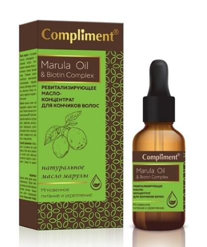 Купить Marula oil&biotin complex масло-концентрат ревитализирующее для кончиков волос 25мл цена