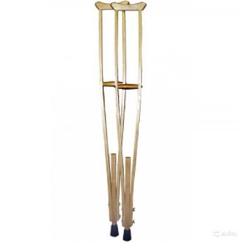 Купить Костыли опорные деревянные для взрослых n2 цена