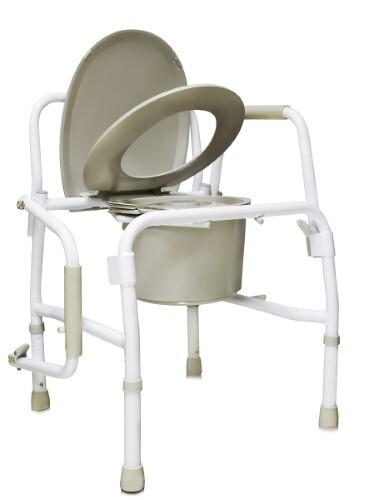 Купить Кресло-туалет с опускающимися подлокотниками amcb6807 цена