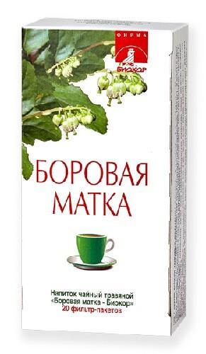 Купить Боровая матка-биокор напиток чайный травяной цена
