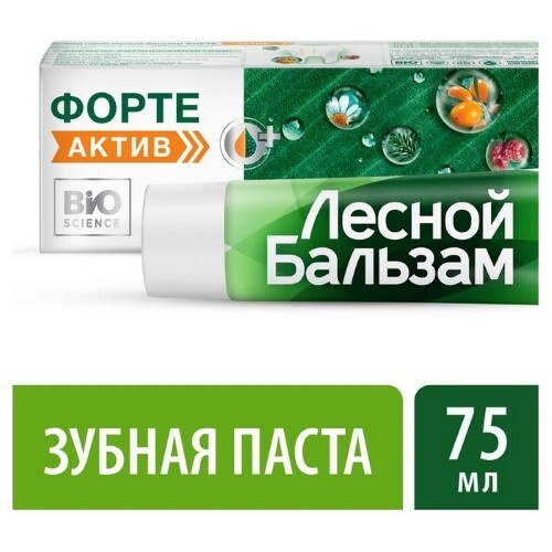 Купить Зубная паста форте актив 75мл цена