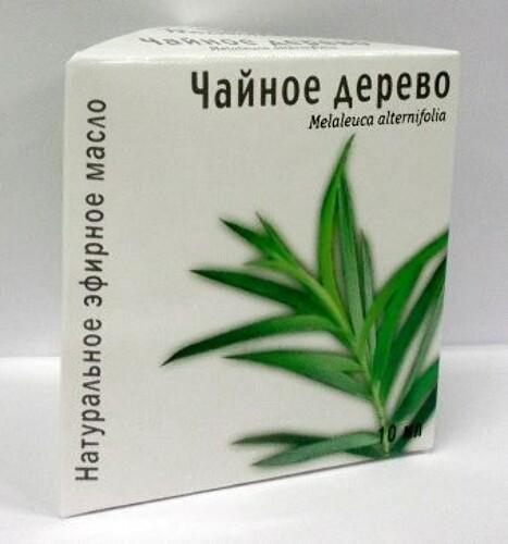 Купить Масло эфирное чайное дерево 10мл инд/уп цена