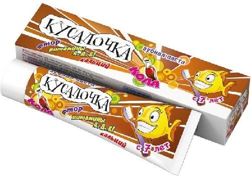 Купить Зубная паста кола 50мл для детей с 7 лет цена