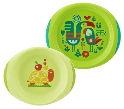 Купить Набор тарелок n2 12+/зеленые цена