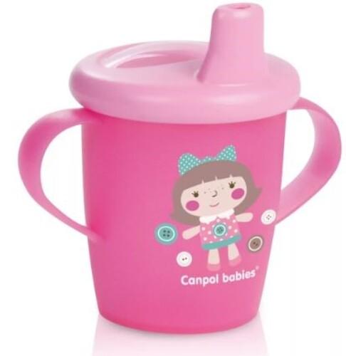Поильник-непроливайка toys 250мл 9+/розовый